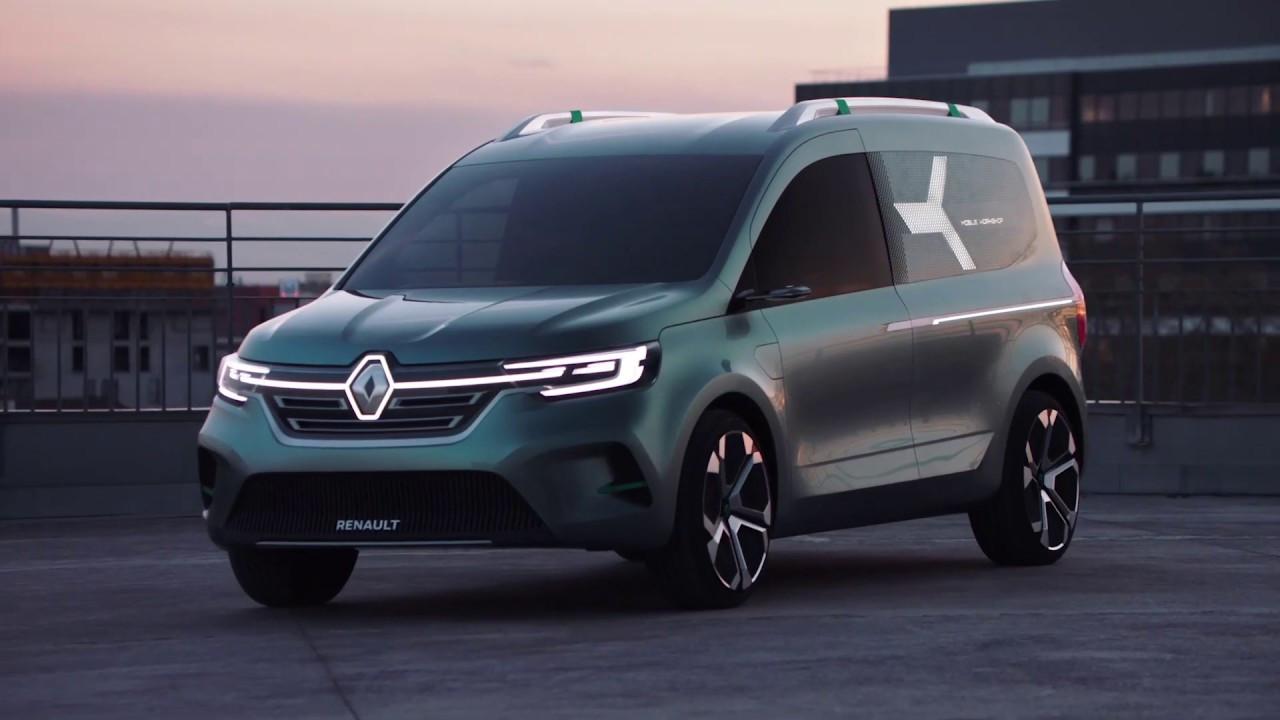 Renault konsept tasarımı Kangoo Z.E. ile karşınızda