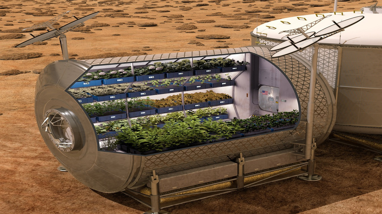 NASA'dan Mars serası projesine ödül