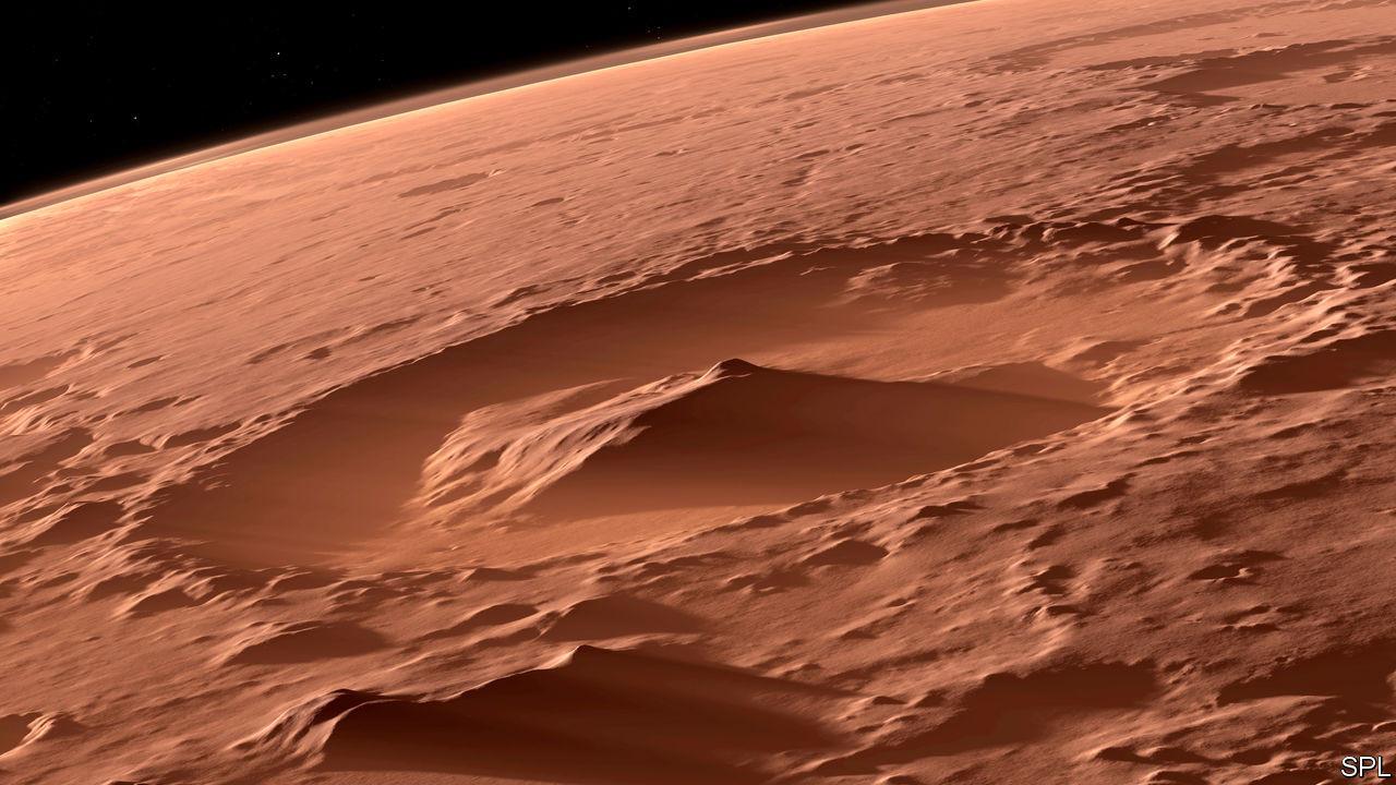 Mars'taki oyuklar görenleri heyecanlandırdı!