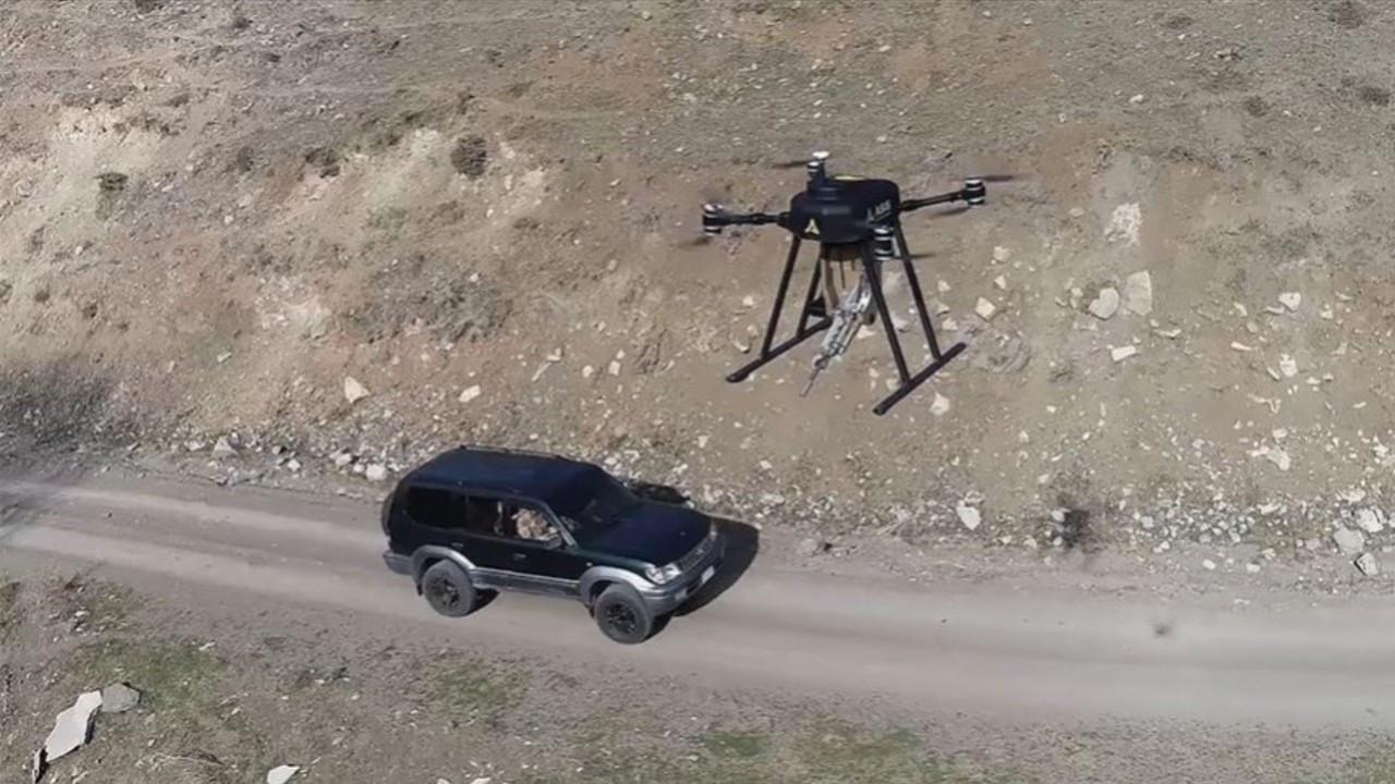 İşte ilk milli silahlı drone!