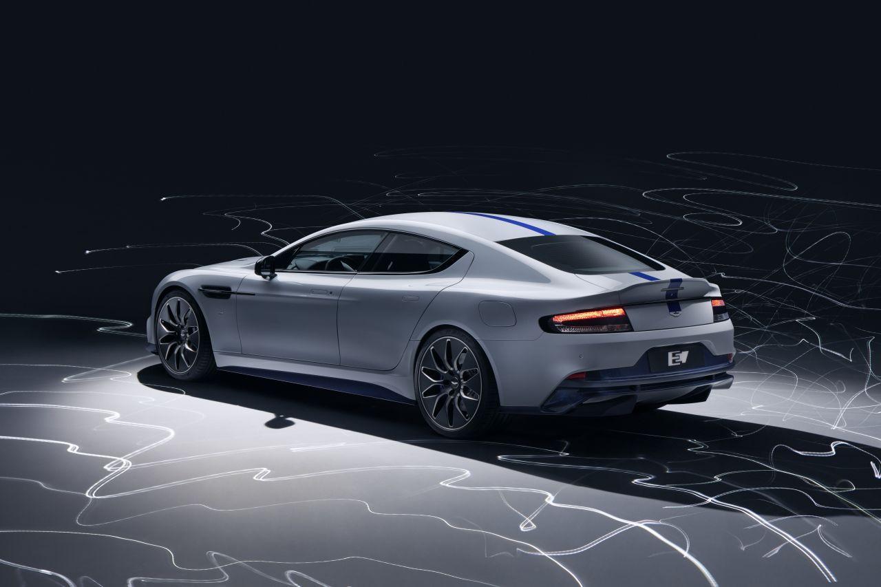 Aston Martin'den elektrikli spor otomobil: Rapide E - Page 4