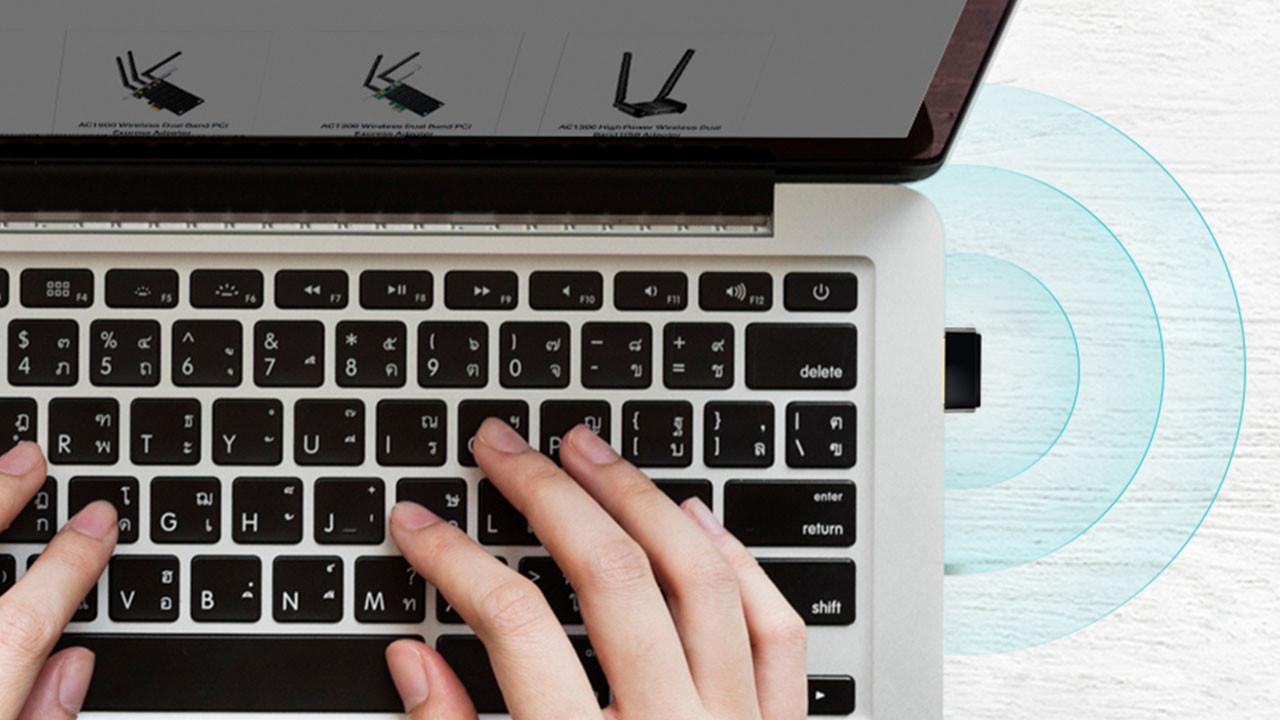 TP-Link'ten yeni Wi-Fi USB adaptör