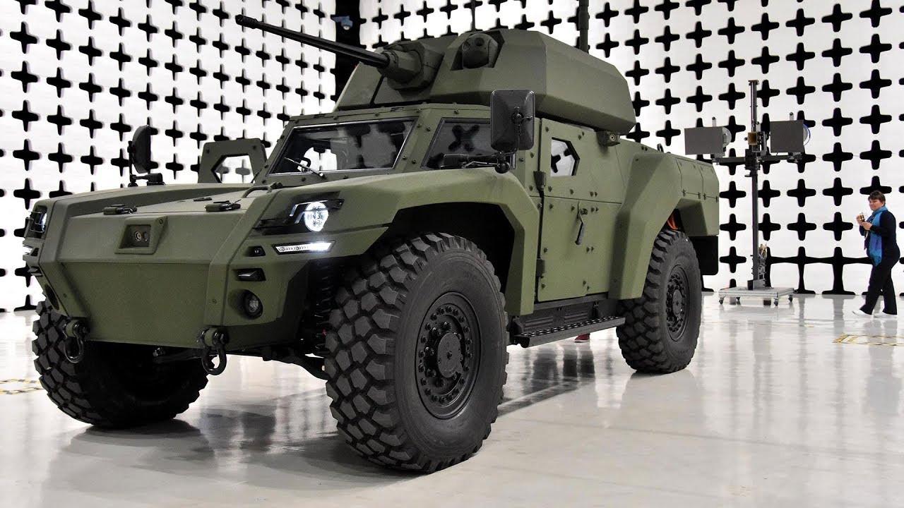 Türkiye'nin ilk elektrikli zırhlı aracı 'Akrep II' tanıtıldı!