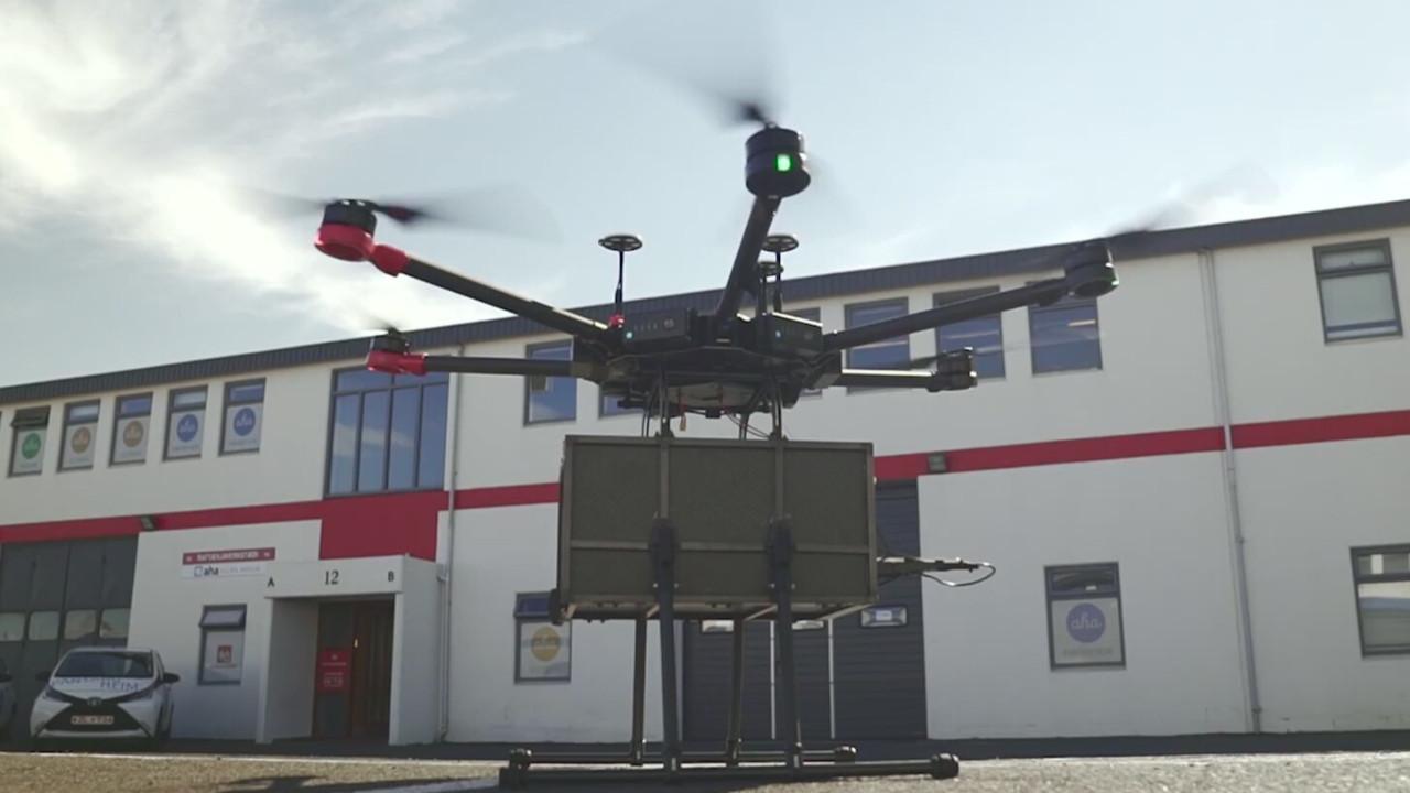 İlk kez drone ile böbrek taşındı!