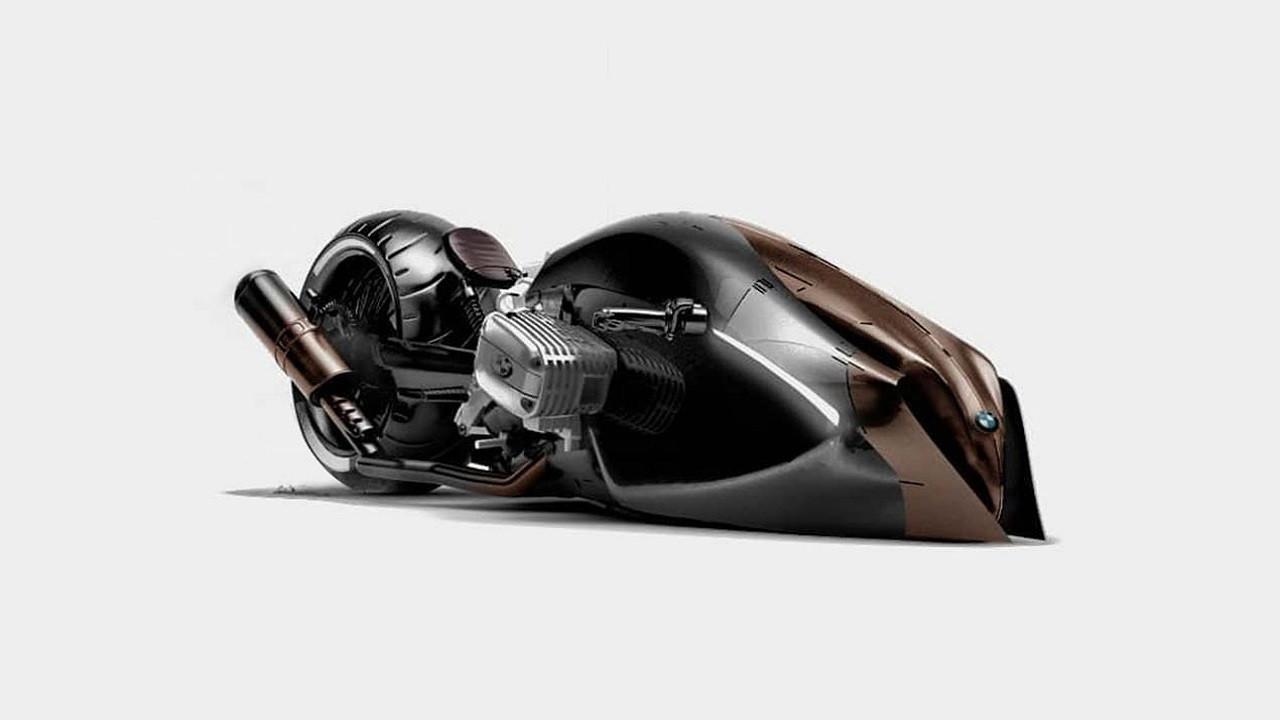 Türk tasarımcıdan ilginç BMW motosiklet tasarımı