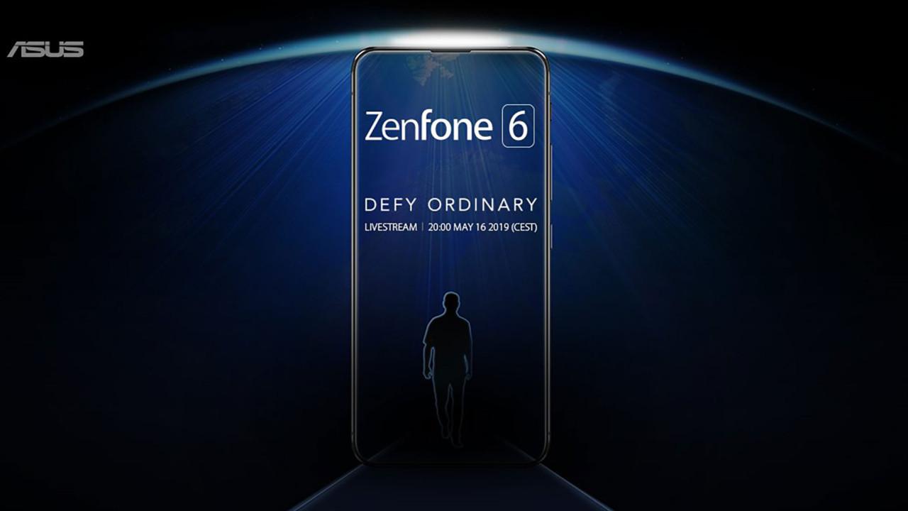 Asus Zenfone 6 görseli heyecan yarattı!