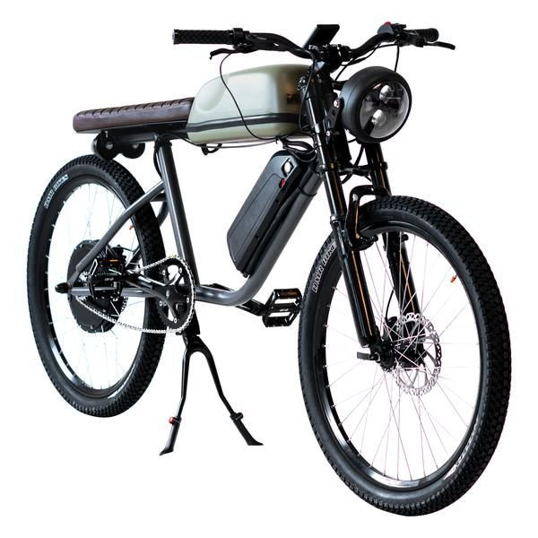 Nostaljiyi teknolojiyle birleştiren elektrikli bisiklet: Titan R - Page 4