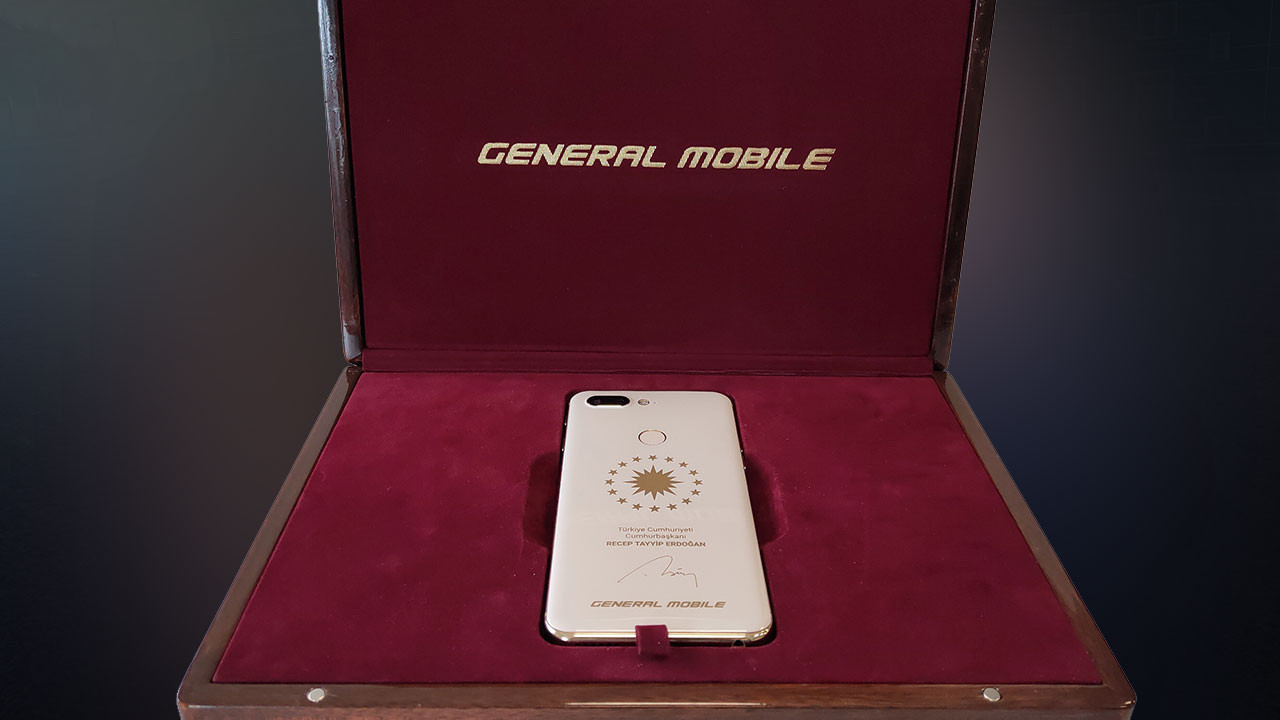 Cumhurbaşkanı'na özel GM 9 Pro üretildi