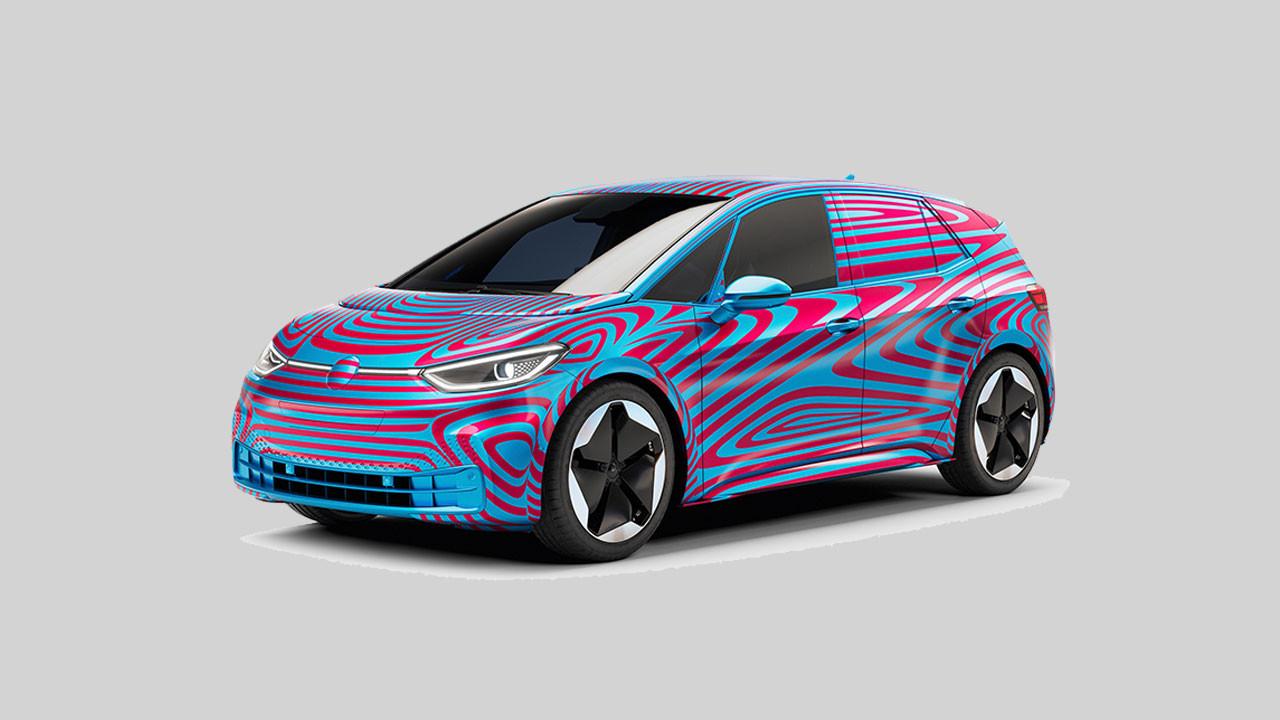 Volkswagen'in ilk elektrikli aracının adı ID.3 oldu