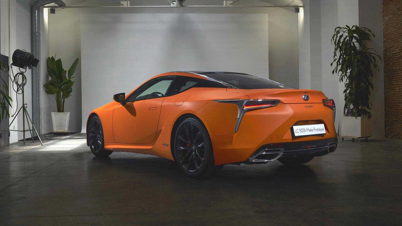 Lexus LC 500h Matte Prototype tanıtıldı - Page 2