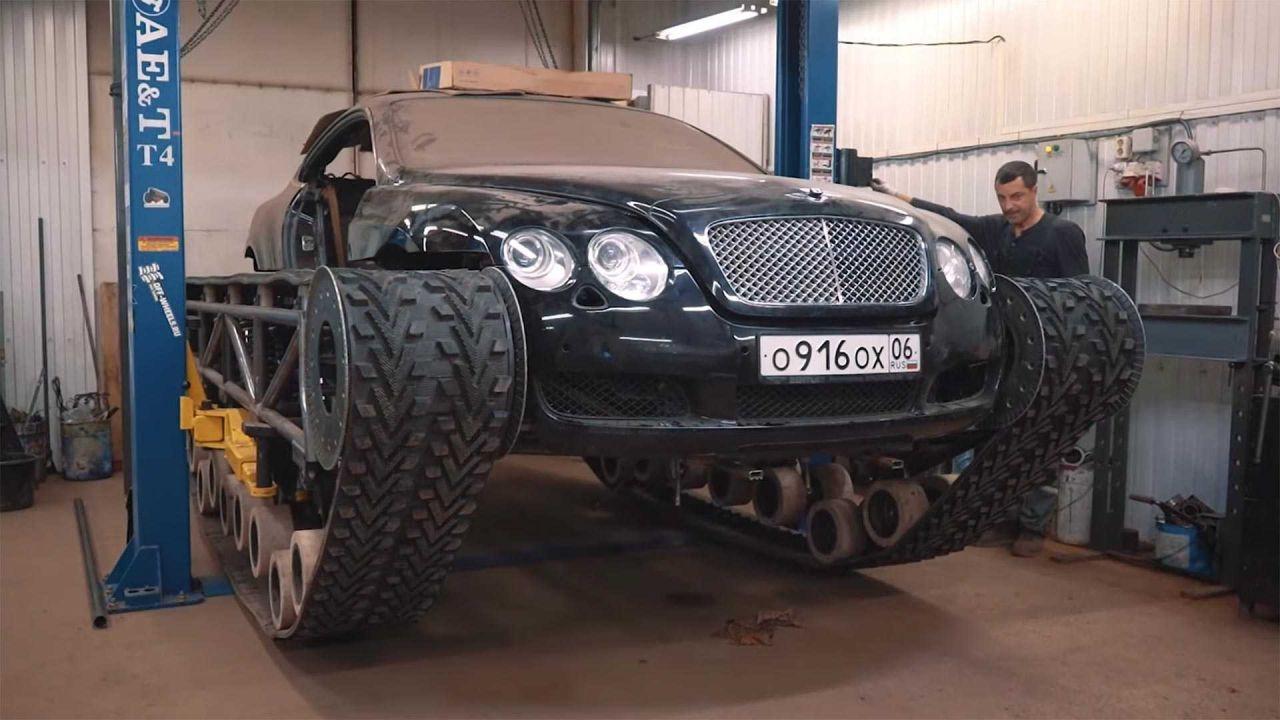 Bentley Continental GT Ultratank'a dönüştü - Page 4