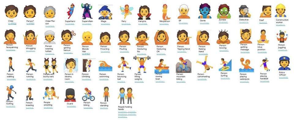 Google'dan cinsiyetsiz emoji adımı! - Page 3