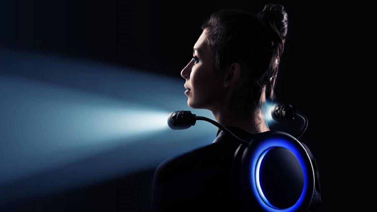 Giyilebilir LED ışık modeli Tronex