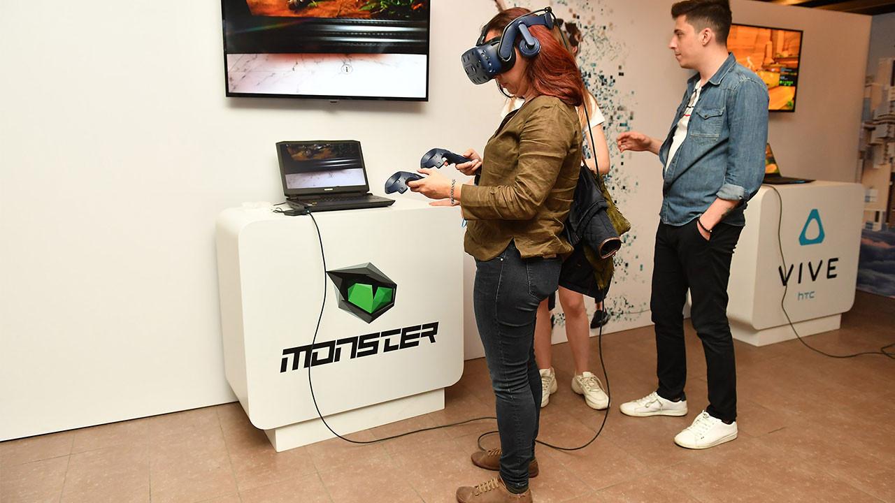 Monster Notebook yeni nesil VR'a Hazır