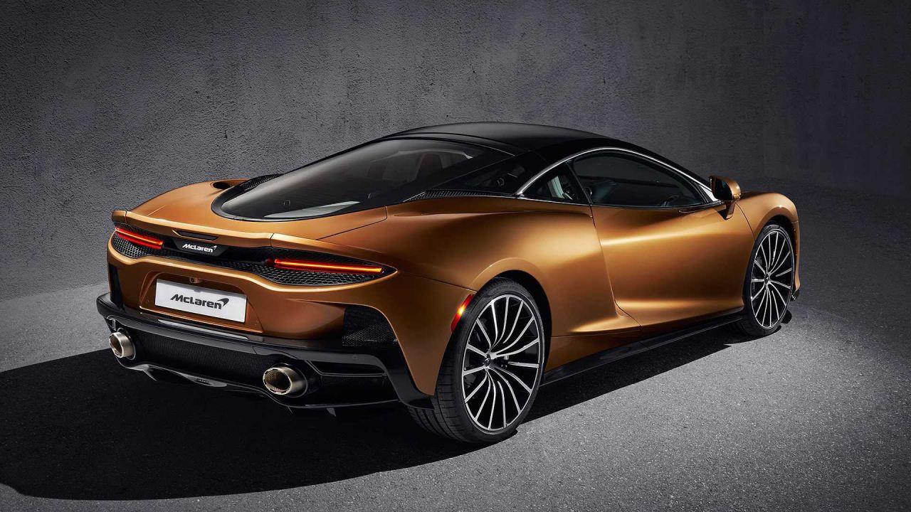 Fotoğraflarla yeni spor otomobil McLaren GT - Page 4