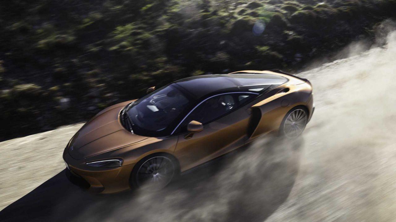 Fotoğraflarla yeni spor otomobil McLaren GT - Page 1