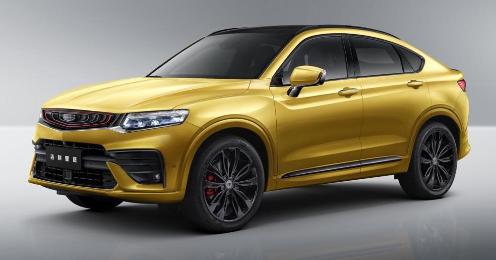 Dünyanın ilk şarj edilebilir coupe SUV modeli: Geely Xing Yue - Page 1