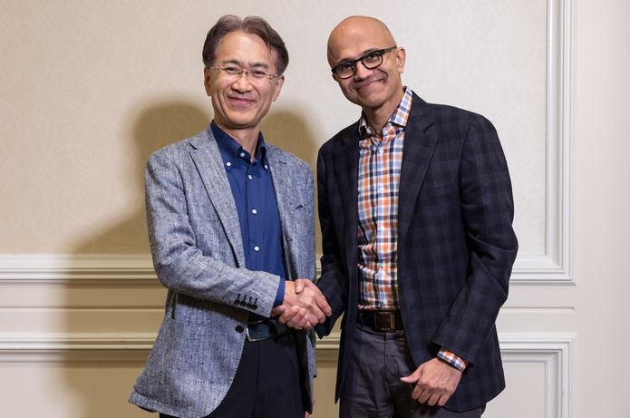 Microsoft Ve Sony İşbirliği!