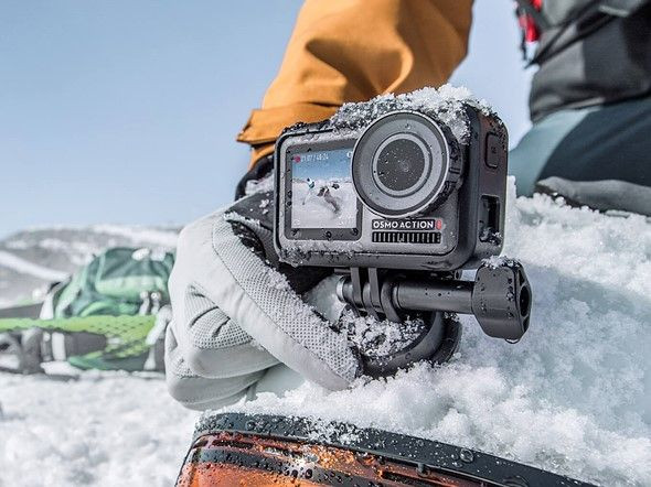 Fotoğraflarla DJI Osmo aksiyon kamerası - Page 1