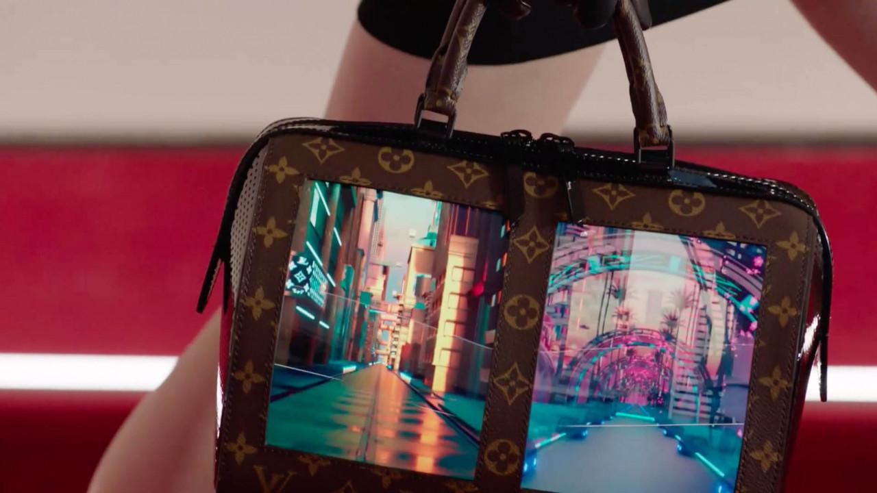 Louis Vuitton AMOLED ekranlı çantalarını görücüye çıkardı!