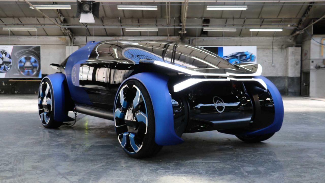 Geleceğin otomobili Citroen 19_19 Concept - Page 1