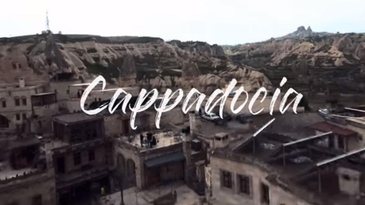 Kapadokya'yı hiç böyle görmediniz (video)