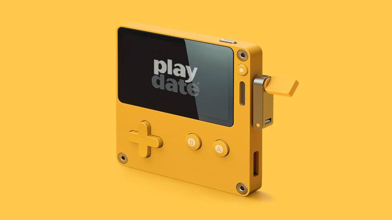 Manivelalı oyun konsolu: Playdate 2020'de satışta!