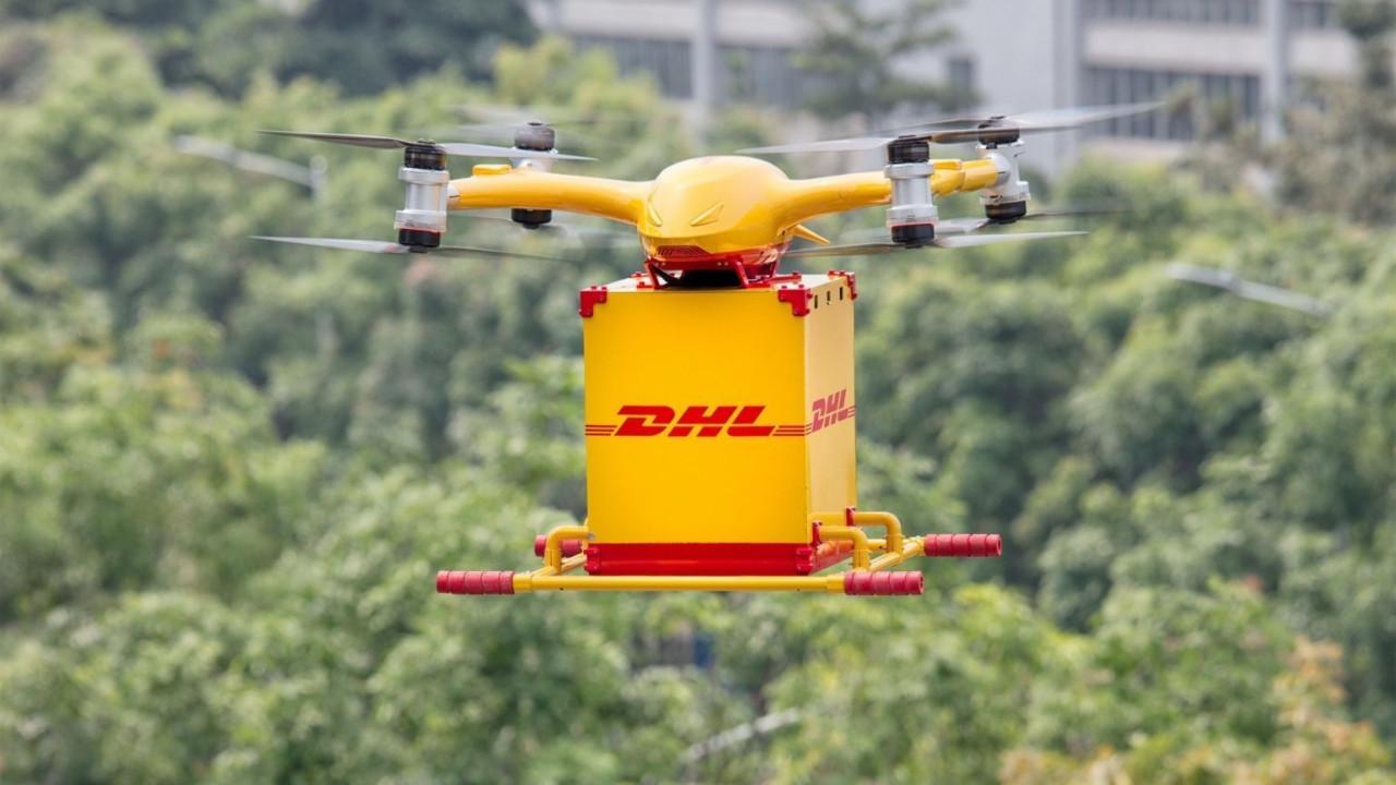 DHL 'akıllı drone' ile kargo hizmetine başladı!
