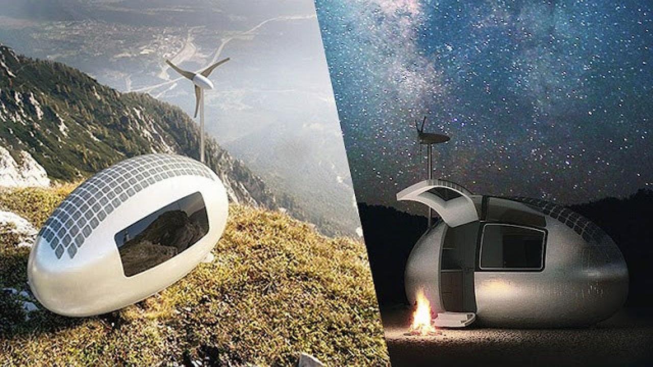 Taşınabilir, güneş enerjili ekolojik ev; Ecocapsule