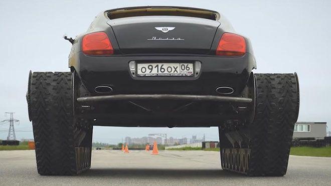 Ultratank, Bentley Continental GT sınırları zorluyor - Page 4