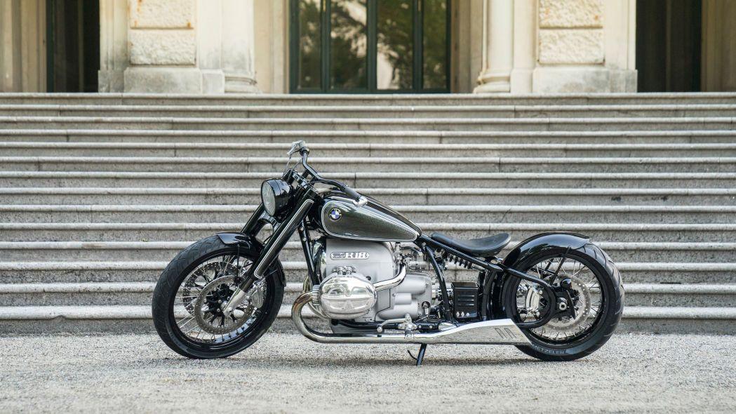 Kışkırtıcı tasarıma sahip motosiklet: BMW R18 Concept - Page 1
