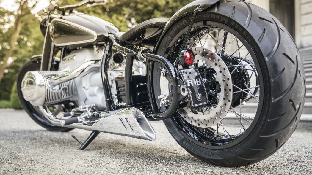 Kışkırtıcı tasarıma sahip motosiklet: BMW R18 Concept - Page 4