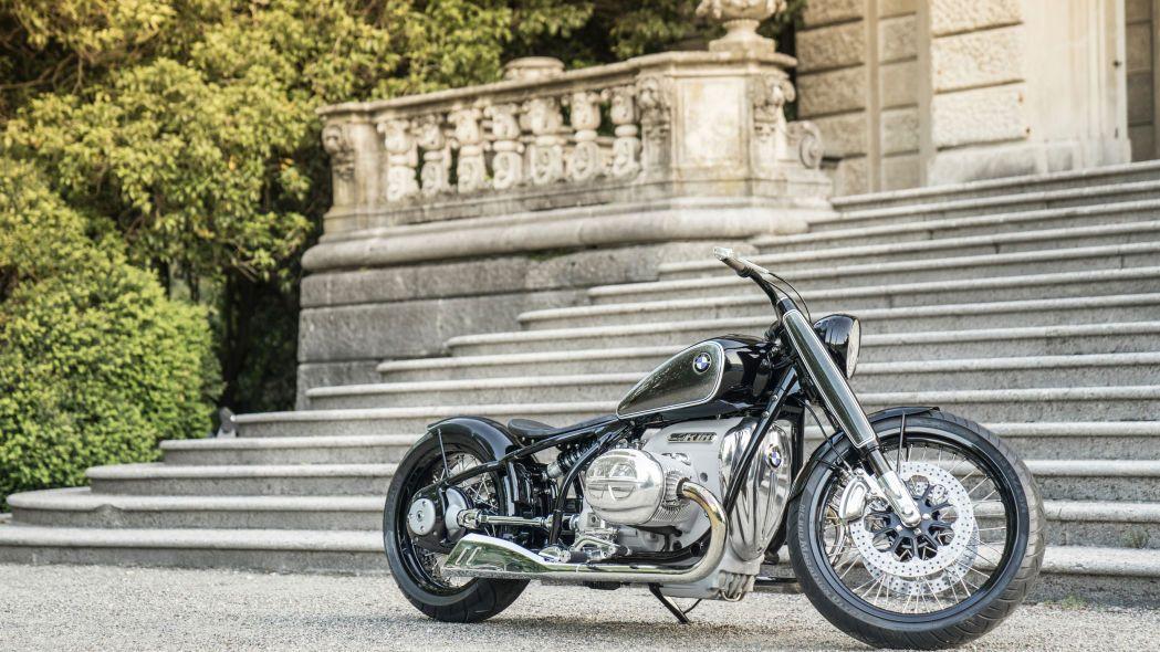 Kışkırtıcı tasarıma sahip motosiklet: BMW R18 Concept - Page 3