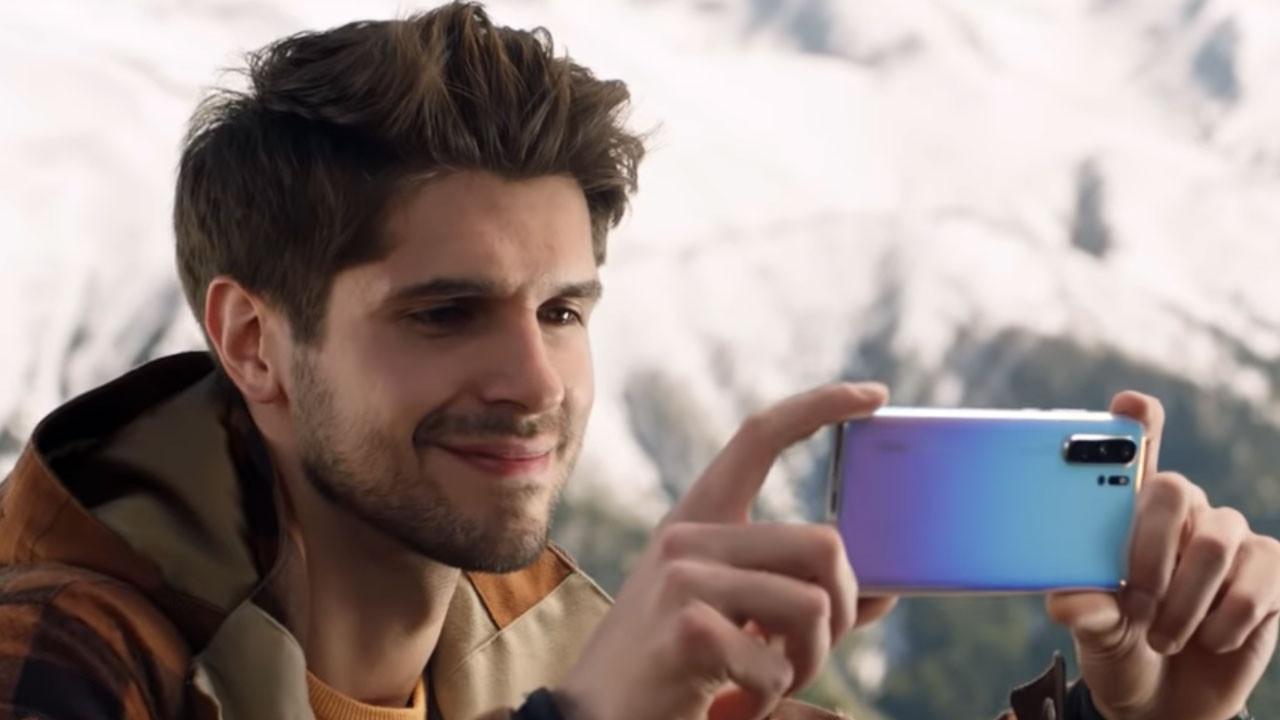 Türkiye'de çekilen Huawei P30 Pro reklamı (video)