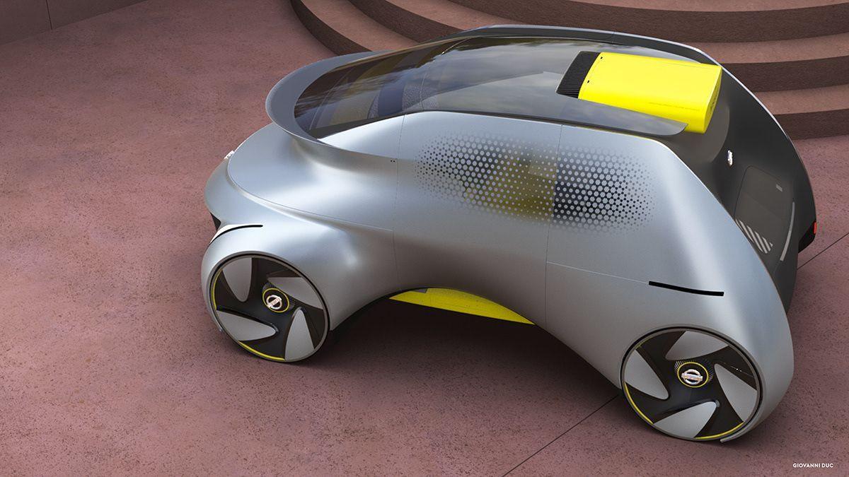 Sürücüsüz okul servisi konsepti: Nissan Chico - Page 4