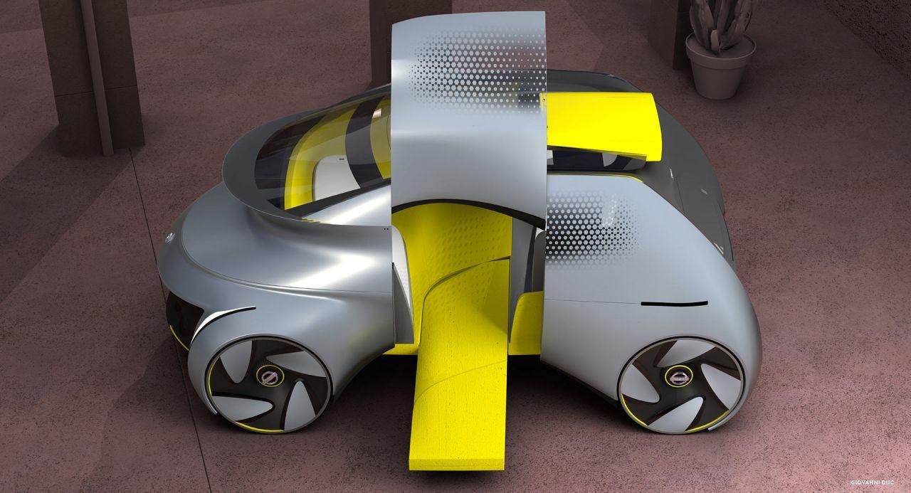 Sürücüsüz okul servisi konsepti: Nissan Chico - Page 3