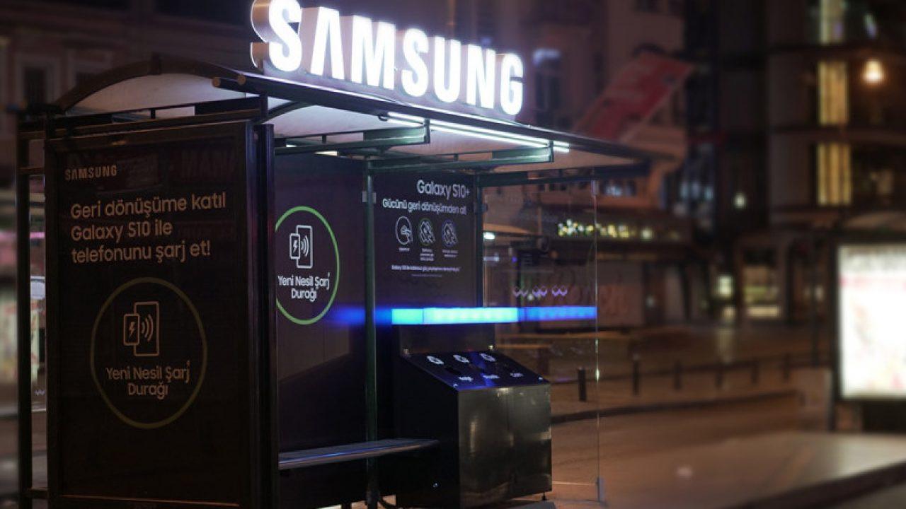 Samsung Türkiye'den yeni nesil şarj durağı!