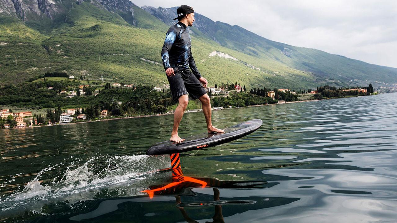 Elektrikli sörf tahtası: Audi e-foil