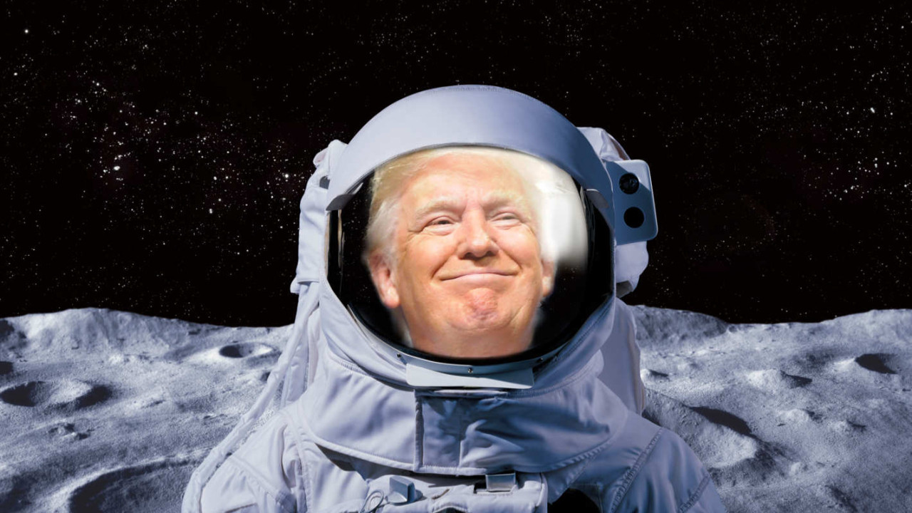 NASA'nın Ay'a gidiş projesine Trump tepki gösterdi!