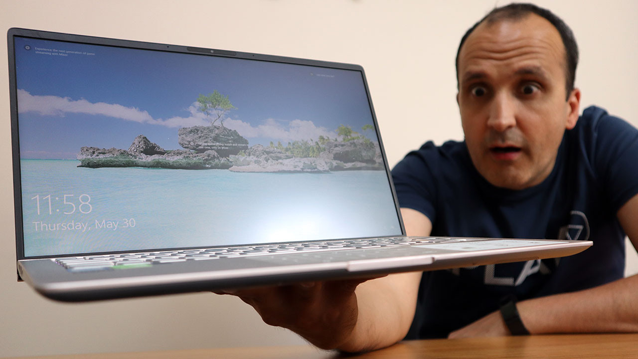 Asus Zenbook 14 UX433 inceleme (video)
