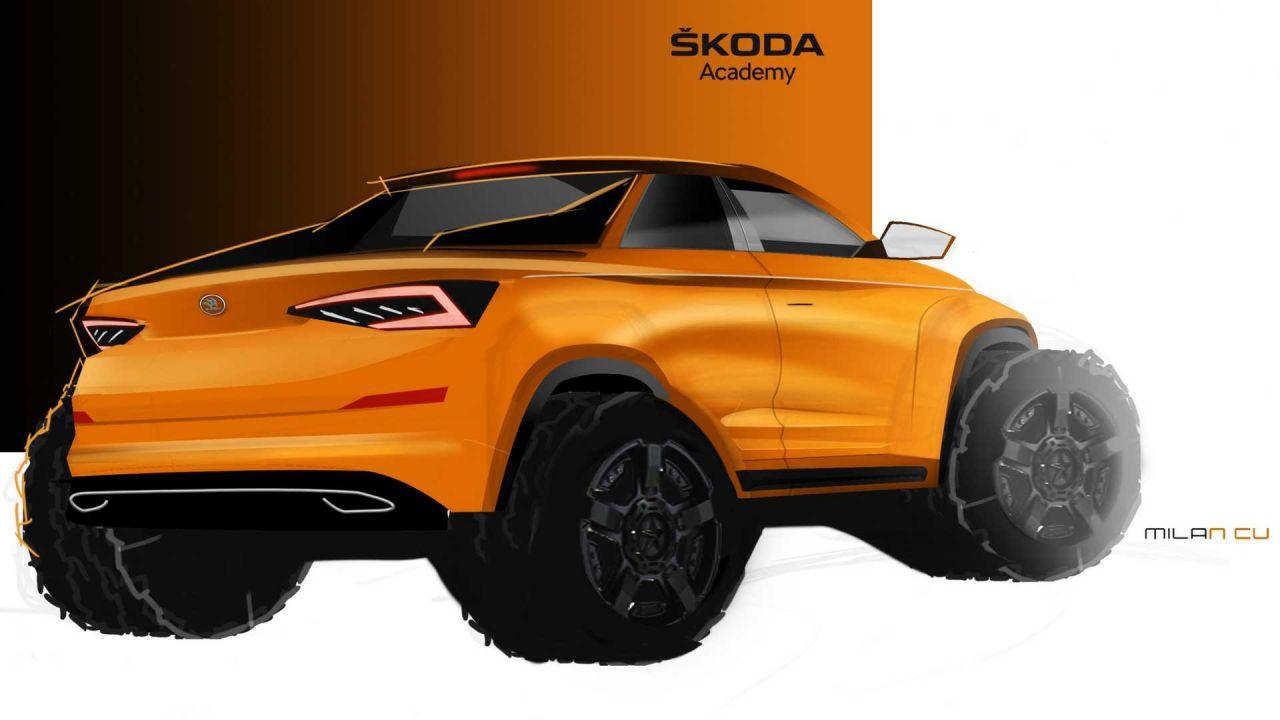 Skoda akademi öğrencilerinin tasarımı: Skoda Mountiaq - Page 2