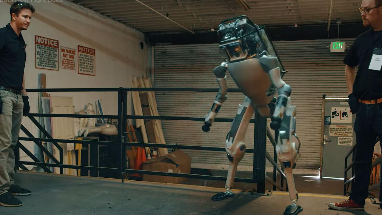 Sahte Boston Dynamics robotu videosuna dikkat!