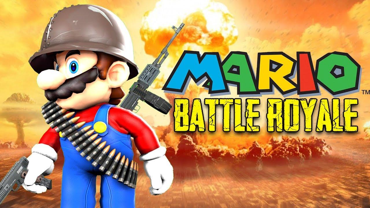 PUBG'ye rakip: Super Mario Battle Royale!