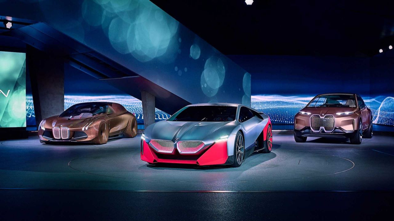 Geleceğin otomobili: BMW Vision M NEXT - Page 1