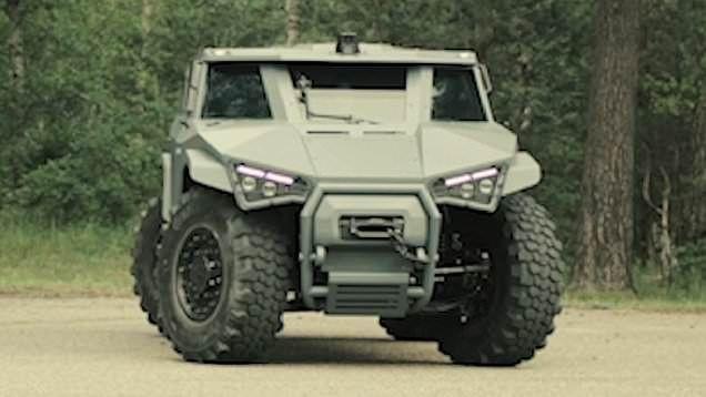 Volvo Fransız ordusu için yeni askeri araç hazırlıyor - Page 2
