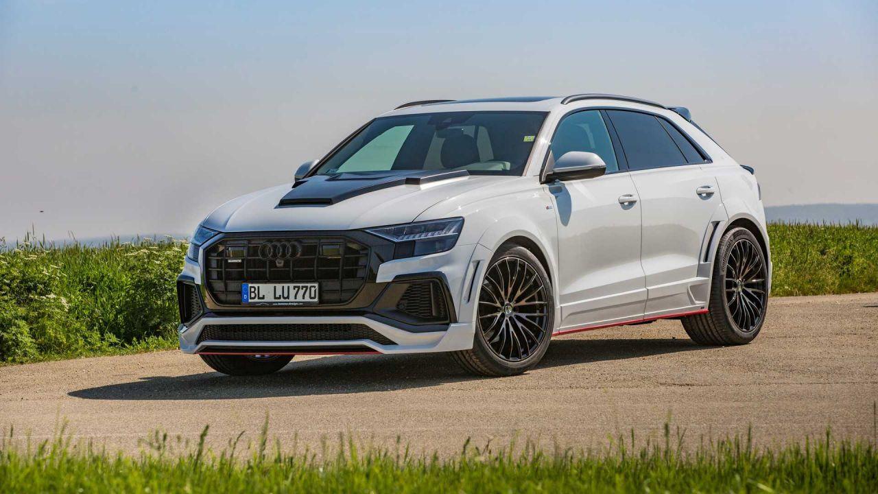 Lumma Design'dan Audi Q8'e sportif modifiye - Page 1
