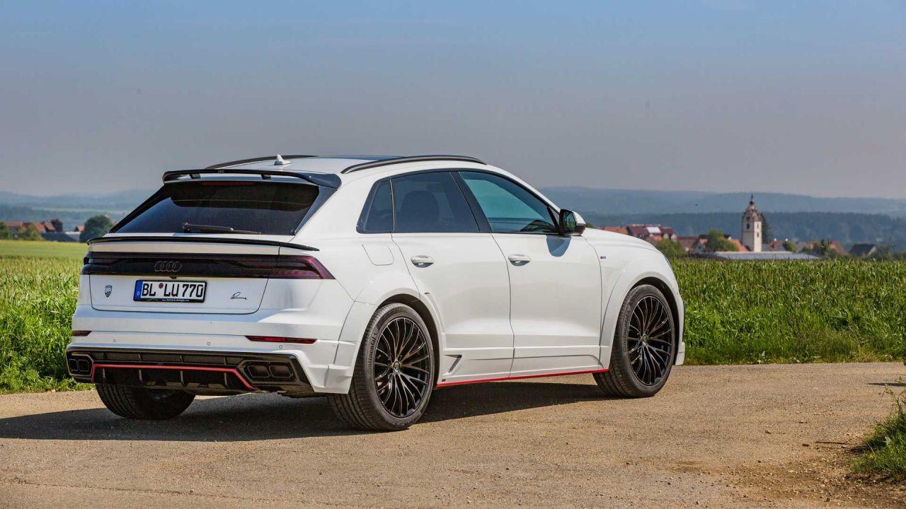 Lumma Design'dan Audi Q8'e sportif modifiye - Page 4
