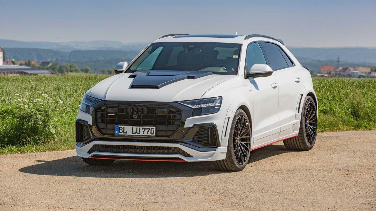 Lumma Design'dan Audi Q8'e sportif modifiye - Page 3