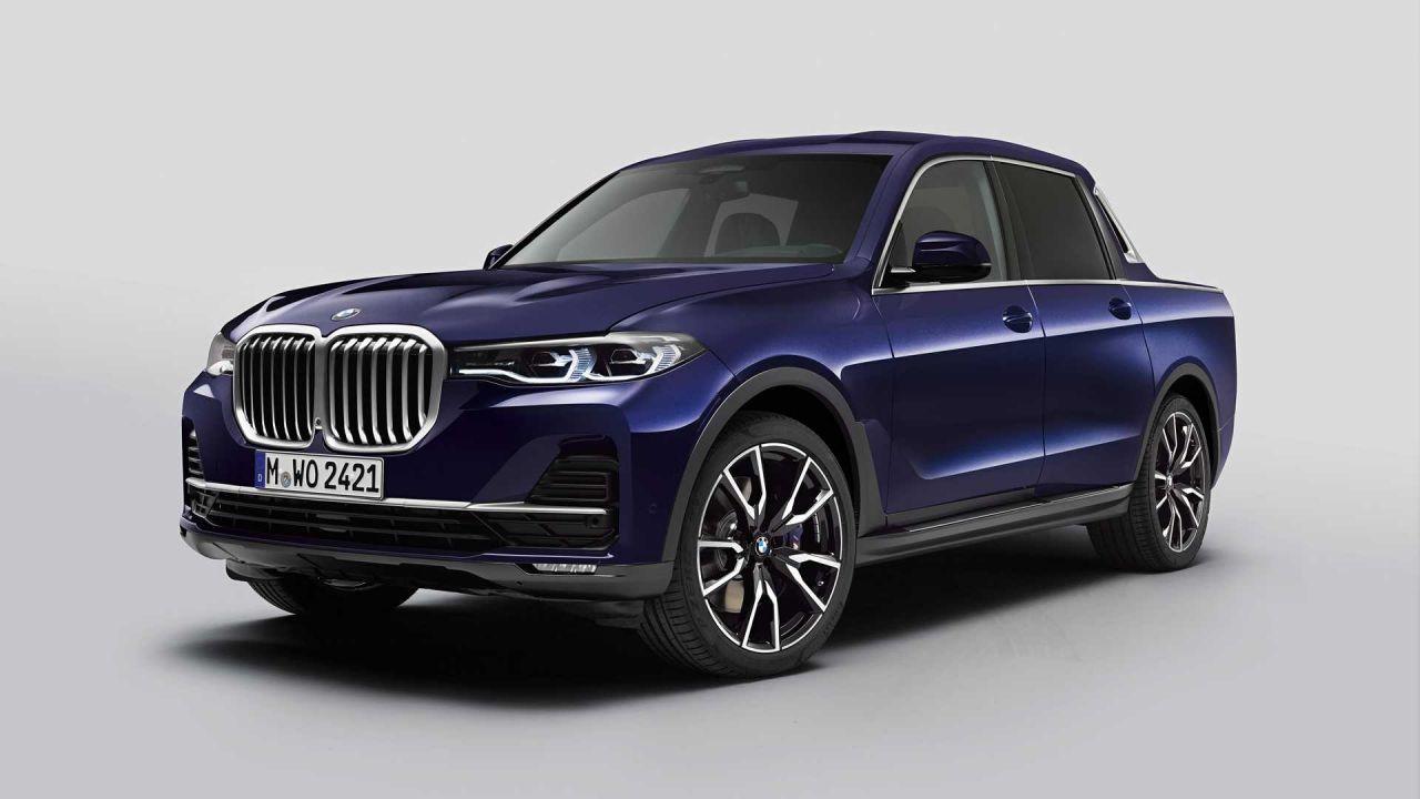 BMW X7 pickup tasarımı ortaya çıktı - Page 1
