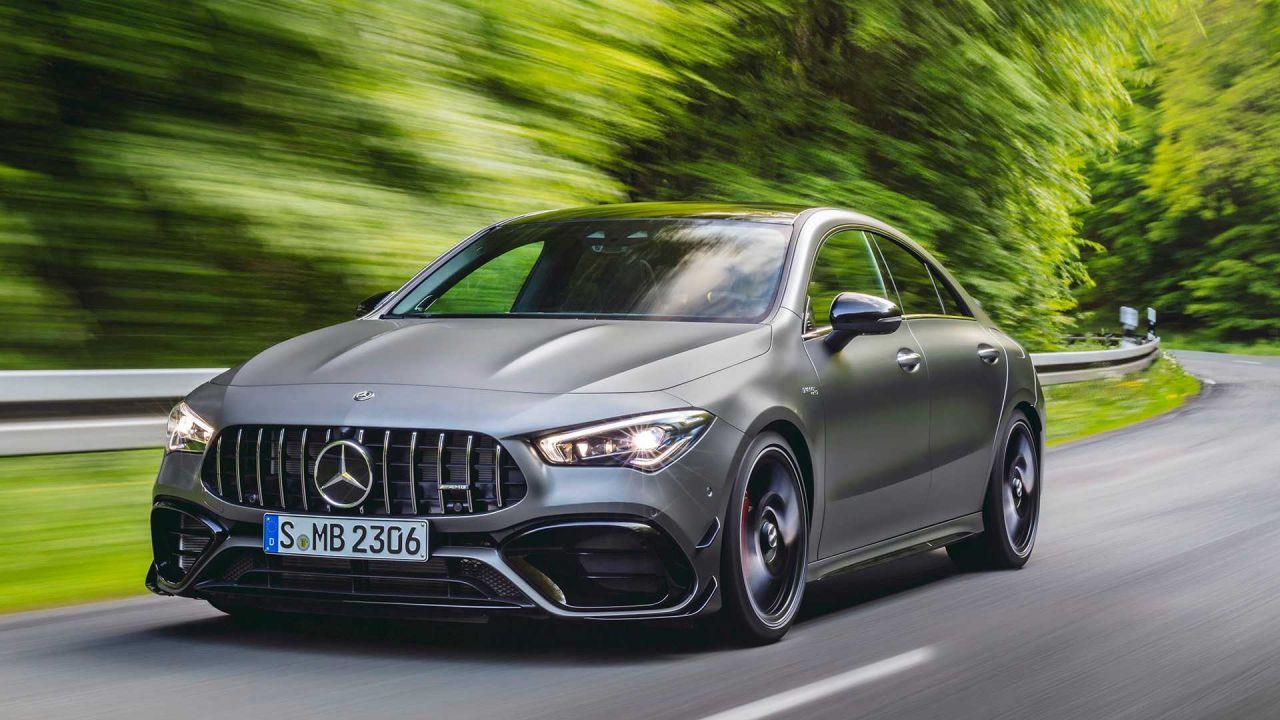 2020 Mercedes AMG-A45 ve Mercedes-AMG CLA 45 karşınızda - Page 1